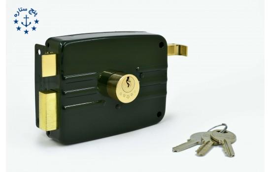 قفل  حياطي تری لاین کليد معمولی