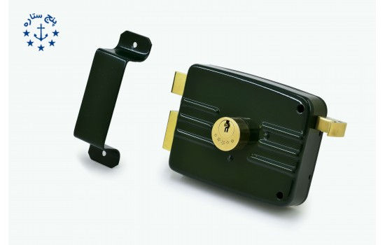 قفل حياطي تری لاین کليد دوشيار
