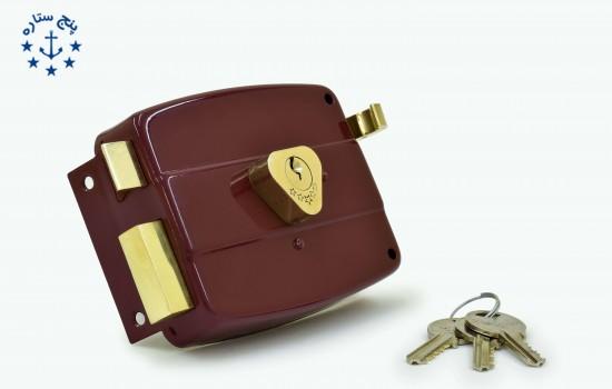 قفل حياطي تریانگل کليد معمولی