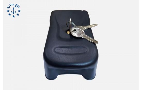 قفل برقي ترتل پارکينگي کليد معمولي