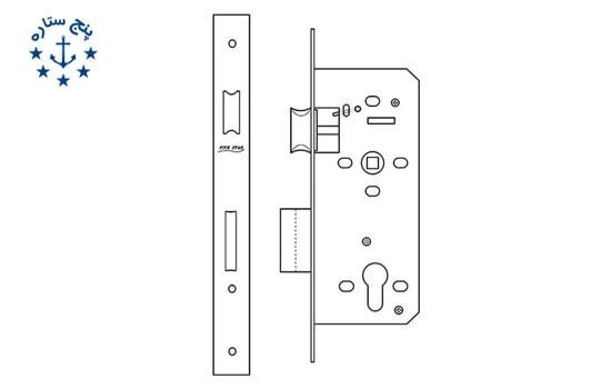 قفل پهن سوئیچی